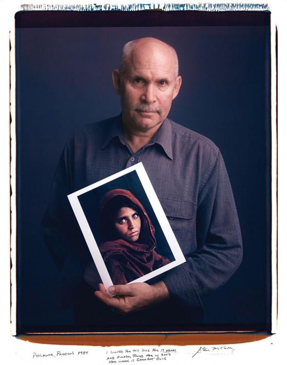1. Steve McCurry afegão menina (1984)