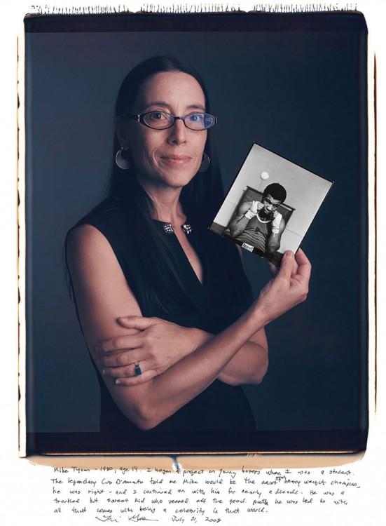 12. Lori Grinker, Mike Tyson (1980)