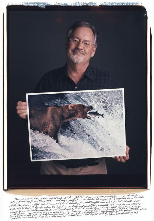 5. Thomas Mangelsen, urso marrom no Alasca (1988)