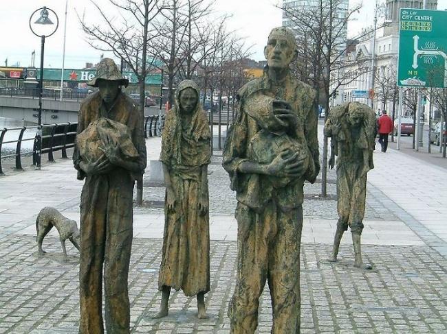 Os emigrantes, Irlanda
