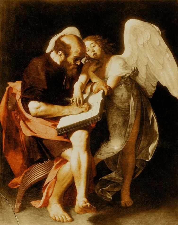 São Mateus e o Anjo (1602)